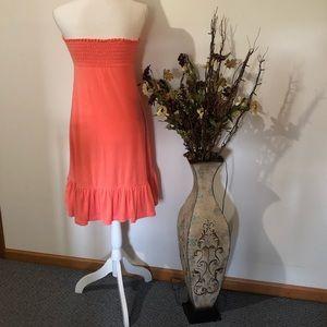 Victoria's Secret Dresses - Victoria Secret strapless beach dress or cover up